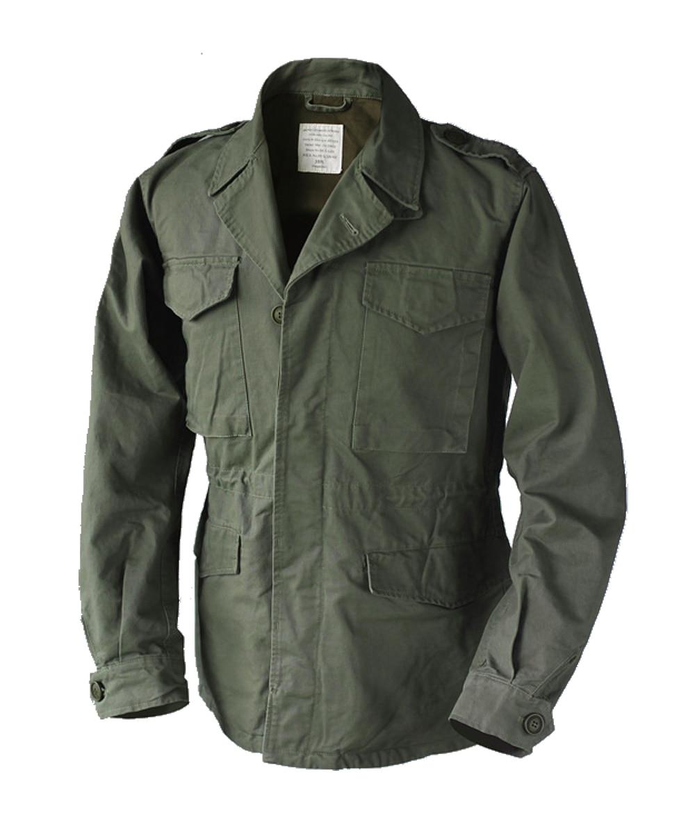 WW2 воспроизведение армии США M 43 Полевая куртка Винтаж Для мужчин; военная форма M65 Тренч