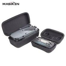 MASiKEN 2 in1 Rígida Duro Saco Caso de Habitação Para MAVIC PRO Zangão DJI Transmissor Controlador Caixa De Armazenamento + Fuselagem Portátil bolsa