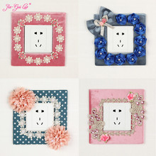 JIA-GUI LUO Cloth Switch Panel Sticker Decorative Wallpaper Socket Interior Decoration Living Room L021