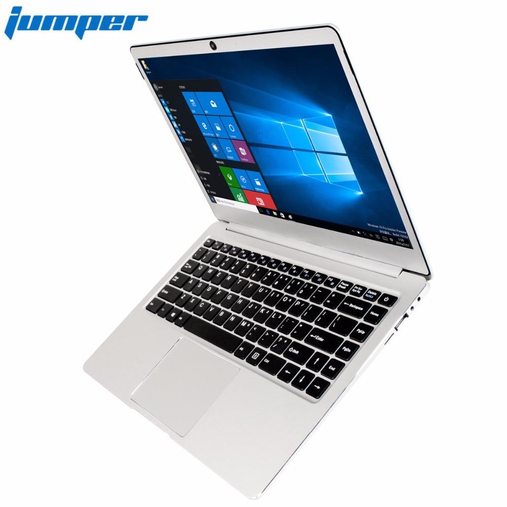 Джемпер ezbook 3L Pro 14 ''ноутбук Оконные рамы 10 Intel Apollo Lake N3450 6 ГБ Оперативная память 64 ГБ EMMC 1920x1080 FHD Dual Band AC Wi-Fi ноутбук