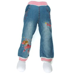 7 24m neonatal girls floral embroidered jeans toddler multi color rhinestone denim trousers infant carotte 2016.jpg 250x250
