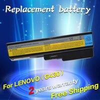 JIGU 9 cells Laptop Battery For Lenovo 3000 G430 G450 G530 G550 IdeaPad V460 G430 Z360 G430 4152 G430L