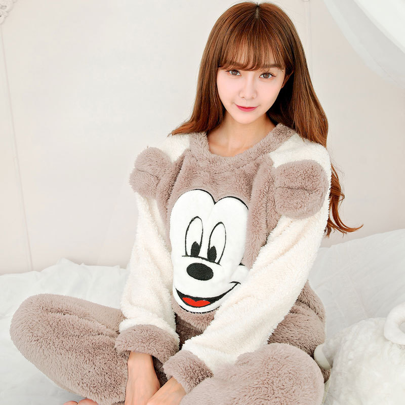 franela primark pijama pijama mujer mujeres del invierno pijama pijama kigurumi ropa de noche. Black Bedroom Furniture Sets. Home Design Ideas