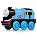 Kids train toys Magnetic metal electronic Tomas head railway toy for baby