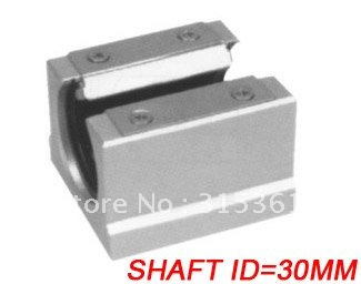 цены Free Shipping 10PCS/Lot SBR30UU CNC Linear Ball Bearing Support Unit Pillow Blocks With Platen 30mm SBR Series
