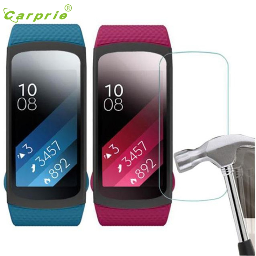 High Tech Paradise Store CARPRIE High Quality 5PC HD Film Intelligent LCD Screen Protective For Samsung Gear Fit 2 SM-R360 Drop Shipping