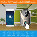 New HD 1M 720P Wireless Wifi Doorbell Camera Video Door Phone IP Camera Night Vision Motion Detection Android IOS APP Control