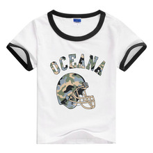 Low Price Clearance Summer New Children Cartoon Round Neck Short Sleeved T-shirt for Boys Girls Boy Tops Girl Tee 2-8Y