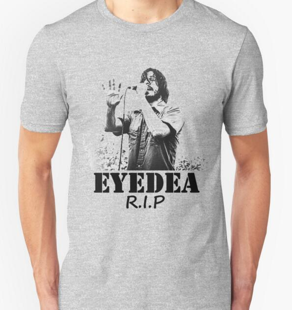 2016 New Summer Novelty Men T Shirts R.I.P Eyedea Forever Funny Camisetas Men O Neck Top Tshirt Casual Fitness Mens Clothing