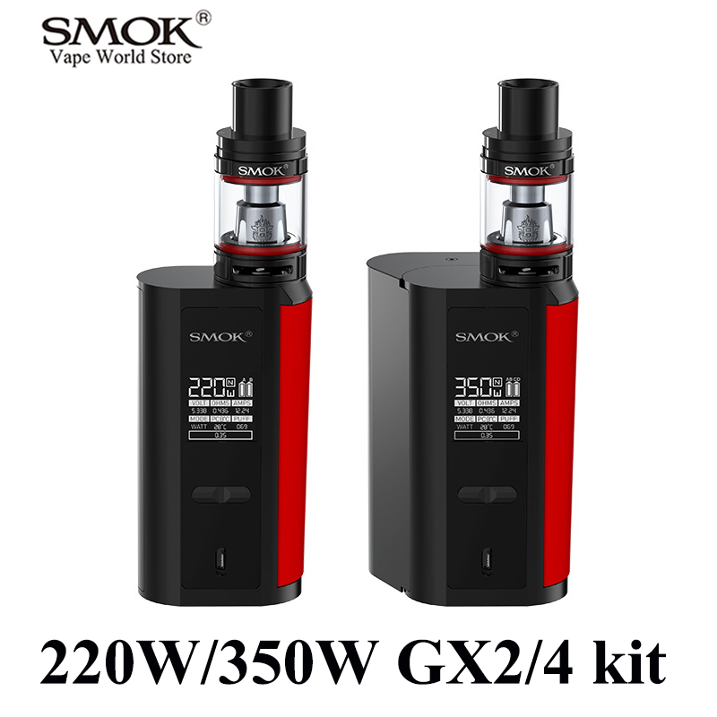 Vape SMOK GX2/4 kit Electronic Cigarette Alien Vaporizer E Cigarette Box Mod VS iKonn 220 RX200S Buy Kit Get 3 Core Free S074
