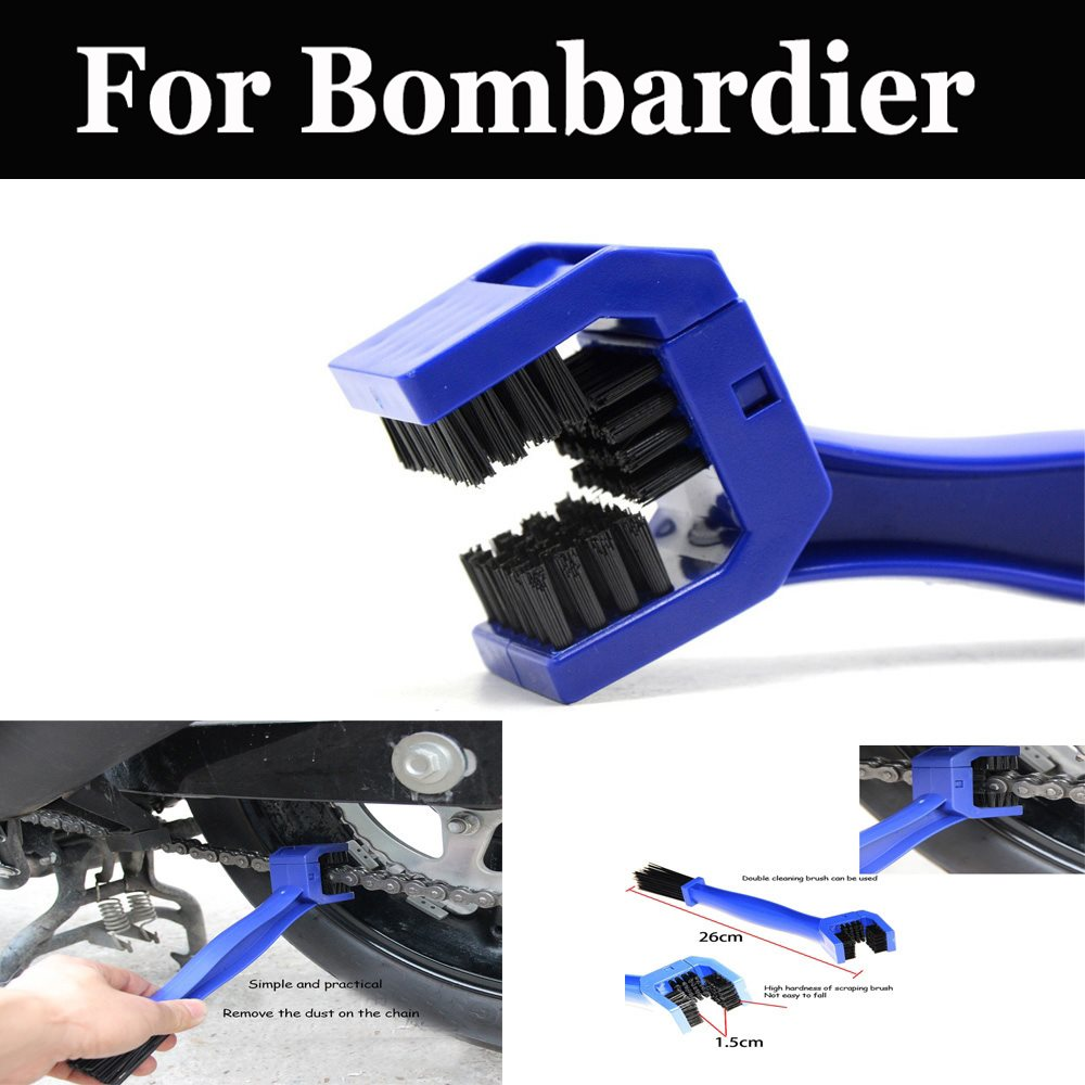 Motorcycle Bike Cycle Chain Maintenance Cleaning Brush Brake Dirt For Bombardier Cam-Am Spyder Gtr 215 <font><b>Gtx</b></font> Limited Is <font><b>260</b></font> image