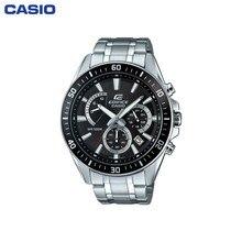 Наручные часы Casio EFR-552D-1A мужские с кварцевым хронографом на браслете