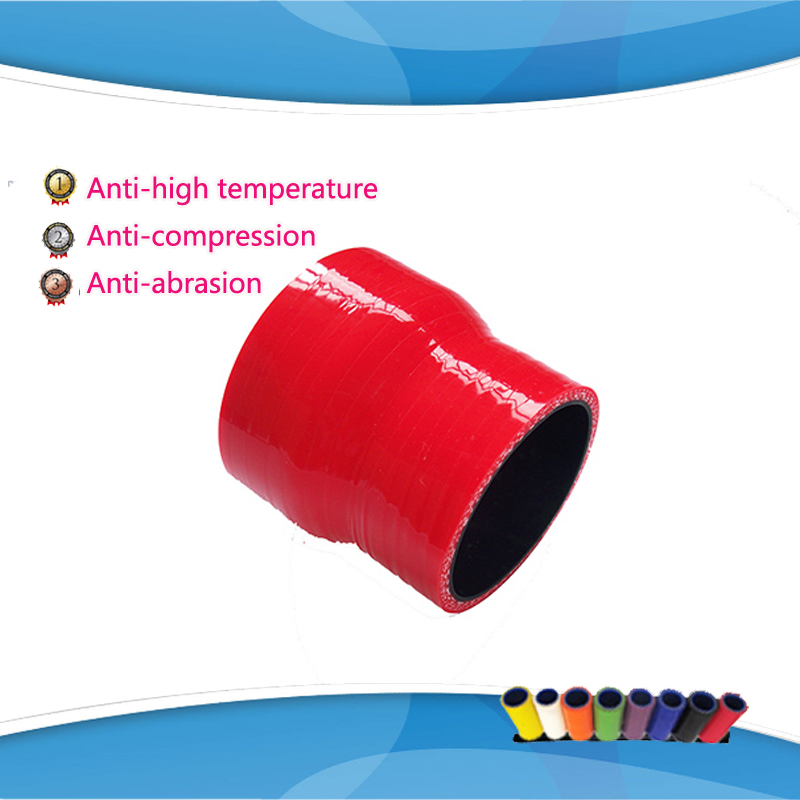 57mm to 64mm 70mm 76mm Silicone Transition Coupler Turbo Intercooler Pipe Hose Reducer 2 1/4 to 2 1/2 2 3/4 3