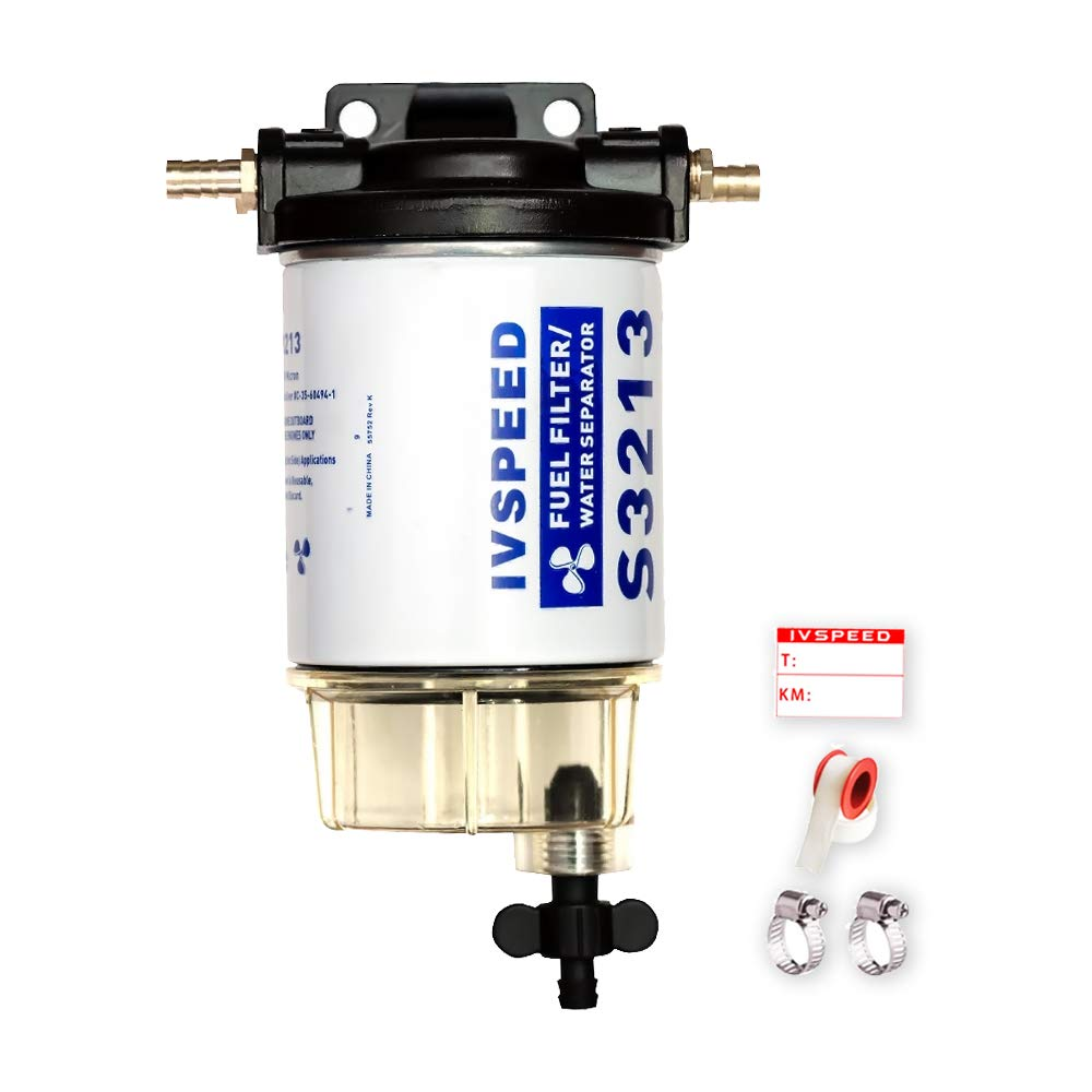 Outboard Engine Water Separating Fuel Filter Element Replaces Racor S3213