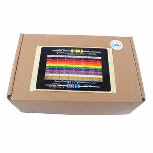 Image 4 - 1460pcs RCmall 1/4W Metal Film Resistor Variable Kit Resistance 1% Precision 73 Values 1K 10K 220ohm 100ohm FZ2426