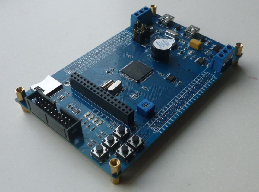 STM32 development board |STM32F103 development board with CAN and 485 transceiver + memory, can open ticket