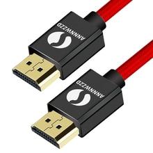 كابل HDMI عالي السرعة 1 متر 2 متر 3 متر 5 متر 10 متر 6ft فيديو 4K 2160p HD 1080p ثلاثية الأبعاد Xbox بلاي ستيشن PS3 PS4 TV PC