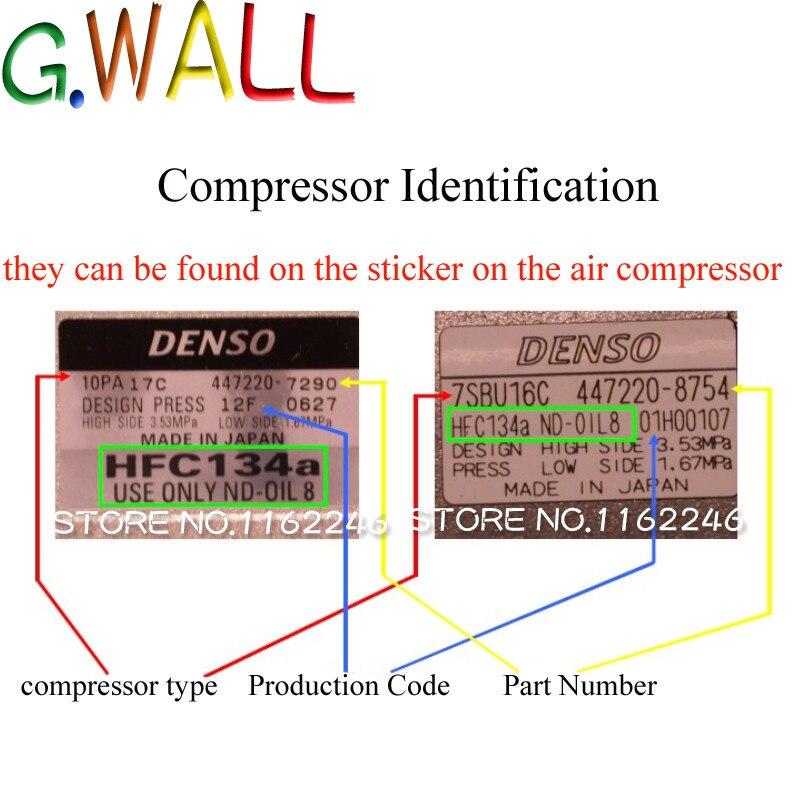 Bil Auto AC-kompressor för Pontiac G8 3.6L V6 för Chevrolet - Reservdelar och bildelar - Foto 2