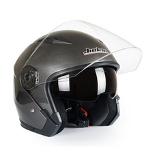 Motorcycle Helmets Electric Bicycle Helmet Open Face Dual Le