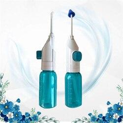 Dental Oral Irrigator Tragbare Wasser Flosser Für Zähne Mit Nasen Duschen Wasser Zähne Mund Sauber Oral Jet Nasen Reiniger