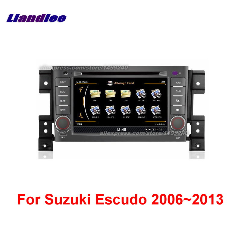 For Suzuki Escudo 2006~2013   Car GPS Navigation System + Radio TV DVD BT iPod 3G WIFI HD Screen Multimedia System|navigation system|gps navigation system|gps navigation - title=