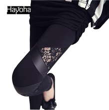 HuMore Fitness Gothic Women Leggings 2016 Punk Leggings Fashion Pants Winter Leggings FW268