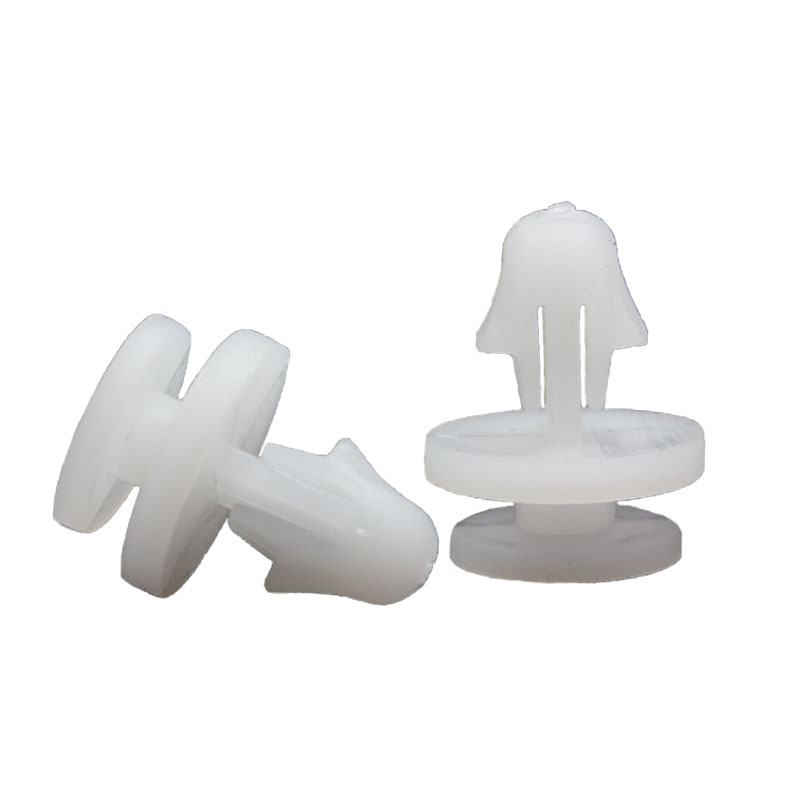 KE LI MI NO 13 50PCS Two layer White Plastic Retainer For GM Car Vehicle Buckle Fixed Door Panel Trim in Auto Fastener Clip from Automobiles Motorcycles