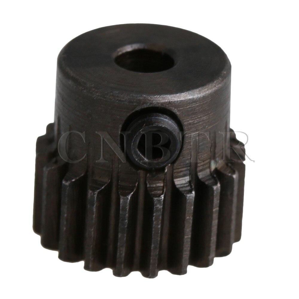 CNBTR 11x10mm 45# Steel 0.5 Modulus 20 Teeth Metal Motor Pinion Gear for RC Model Microgenerator Small Machinery