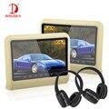 2 sets 10 Pulgadas venta caliente Del Coche 100% Monitor con Reproductor de DVD multimedia USB 4 Color Opcional