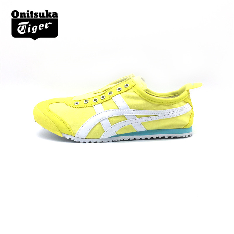 more photos dc872 ff668 ONITSUKA TIGER Men Women Canvas Shoes Yellow white Anti ...