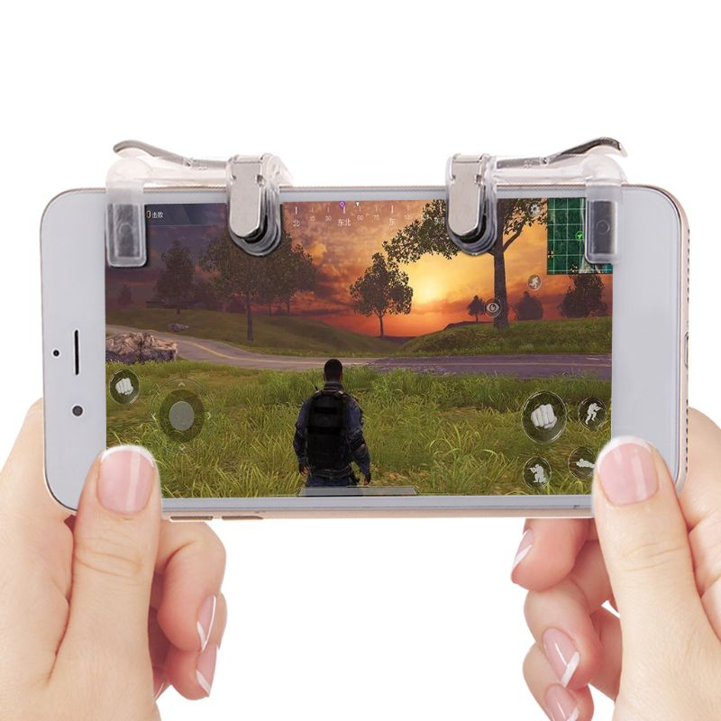 Mobile Game Fire Button Aim Key Smart phone Mobile Gaming Trigger