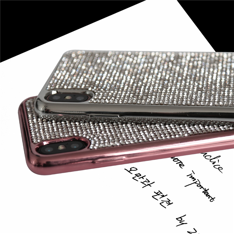 Keyboard - Diamond Plating Case for iPhone