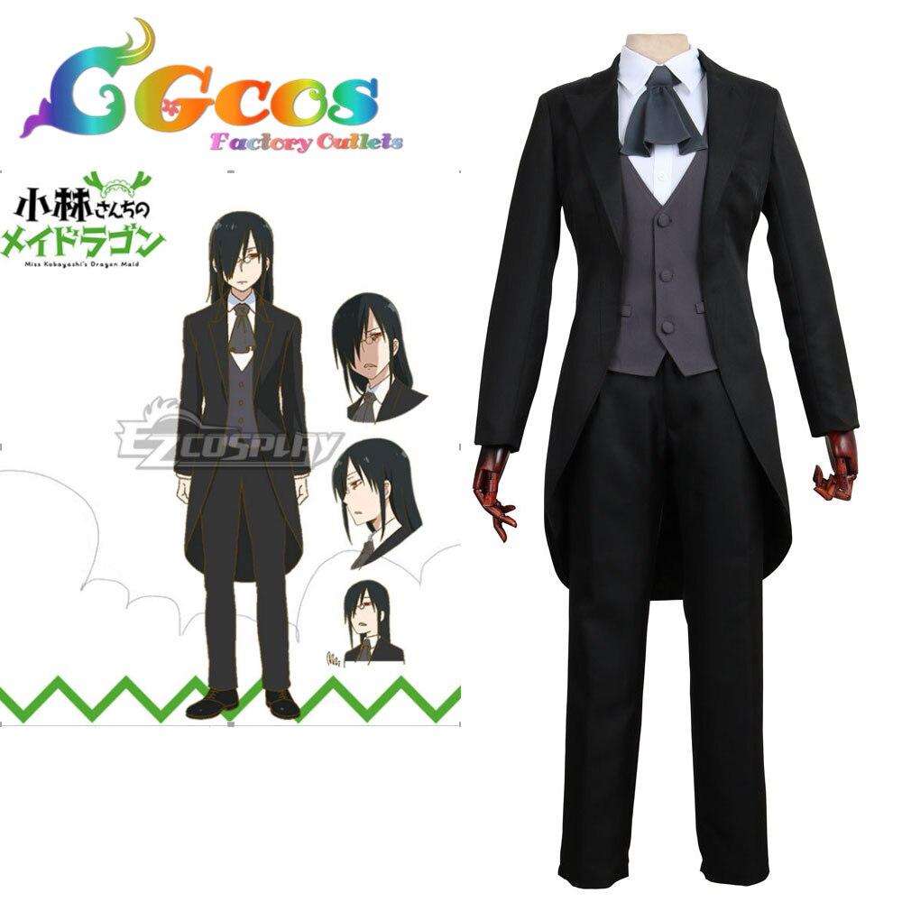 CGCOS livraison gratuite Costume Cosplay Miss Kobayashi Dragon Maid Fafnir uniforme nouveau Stock Halloween fête de noël uniforme