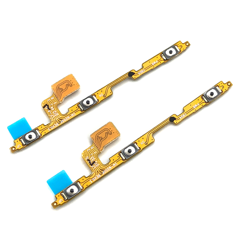 2Pcs/Lot,Power On/off Volume Key Button Flex Cable Ribbon For Samsung M10 M105 M105F M20 M205 M205F M30 M305 M305F