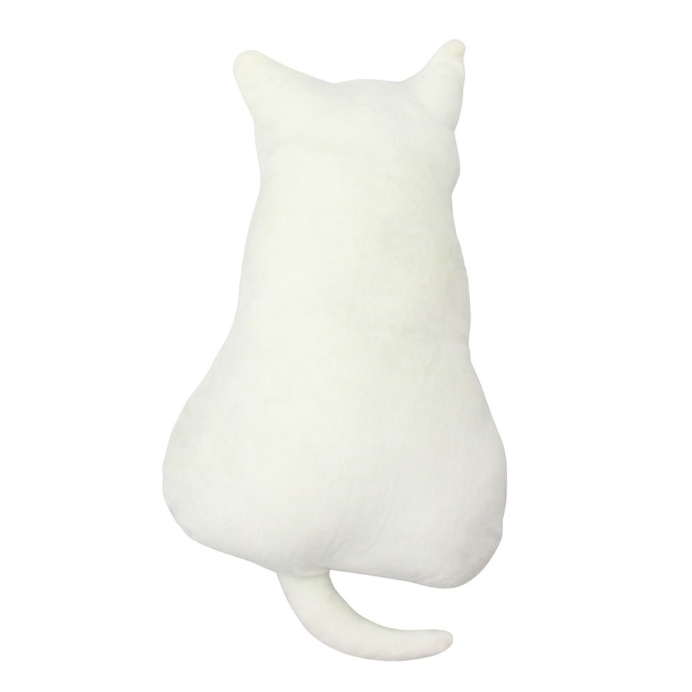 1PC Cat Shape Shadow Home Decor Waist Throw Back Rest Pillow Cushion