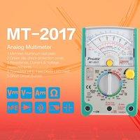 Proskit MT 2017 AC/DC Analog Graph Pointer Multimeter Ammeter Resistance Capacitance Diode Volt Amp Ohm hFE LED Meter