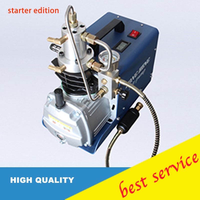 2pcs Simple Version0-30mpa High Pressure Paintball Refilling Air Pump 220V Electrical Air Compressor