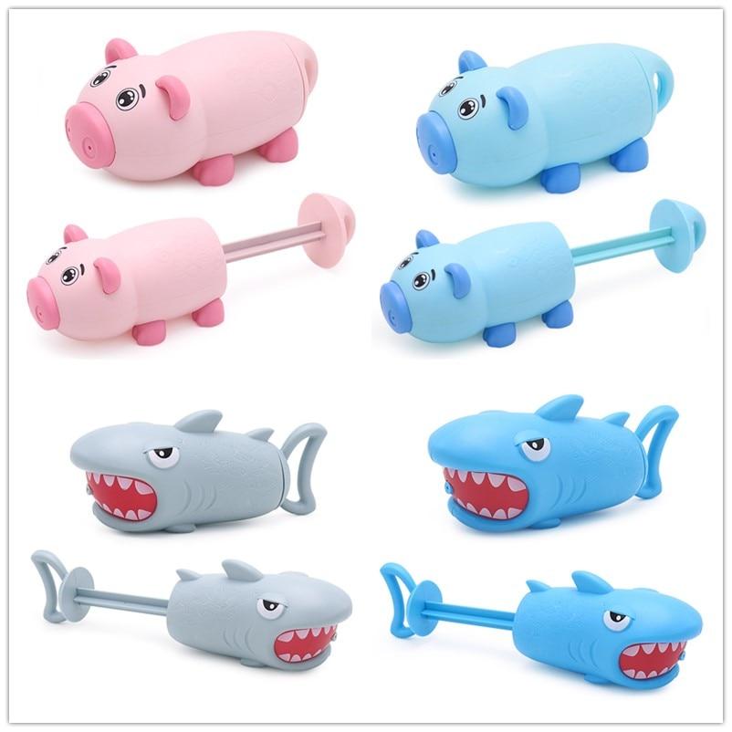 Summer animal Water Guns Kids Toys Pistol Blaster Outdoor Games Swimming Pool Shark water guns Squirter Toys For Children
