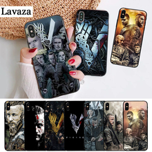 Lavaza Vikings Serie 4 Colorful Printing Drawing Silicone Case for iPhone 5 5S 6 6S Plus 7 8 X XS Max XR