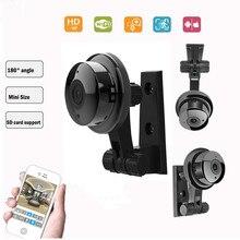 180 P Wi-Fi 3D VR Panorami камера 720 камера видеонаблюдения 720 P ip-камера Wifi Камара IP рыбий глаз мини-камера видеонаблюдения s