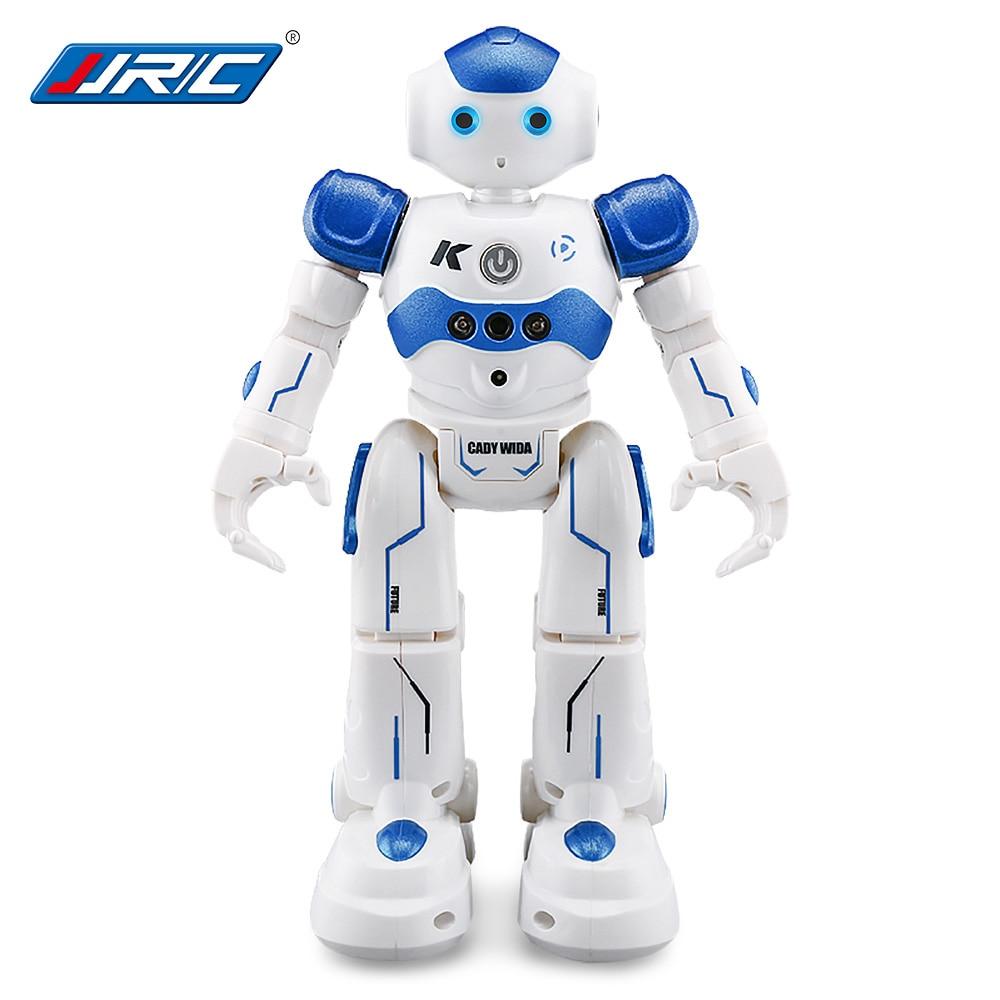 JJRC RC Robot Kids Toy 2.4G Intelligent Programming Gesture Sensor Singing Dancing Display Candy Action Figure Robots Toy jjrc r3 rc robot toys intelligent programming dancing gesture sensor control for children kids f22483 f22483