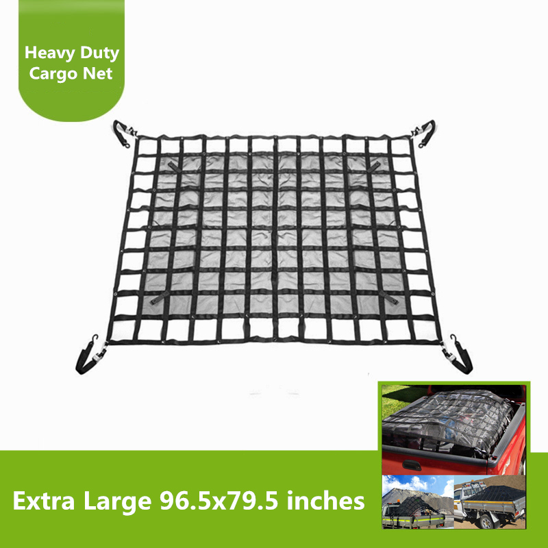 Car Covers Have An Inquiring Mind Heavy Duty Auto Accessories Storage Rest Bed Exterior Car Hammock Top Cover Cargo Network Roof Net For Jeep Jk 07-18