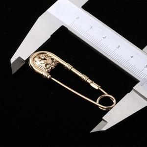 Image 5 - Mdiger Großhandel Brosche Label Pins Metall Lion Kopf Pin Brosche für Männer Legierung Broschen Männer Anzüge Zubehör Gemischt 10 teile/los