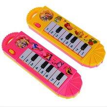 Детская Музыкальная развивающая игрушка на пианино для малышей и детей постарше, развивающие игрушки для детей