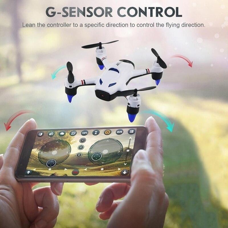2019 Nieuwe Stijl F23w 2.4g Rc Quadcopter Wifi Headless Modus Fpv Drone Met Hd 720 P Camera Afstandsbediening Vliegtuigen Drones Met Camera Hd Tekorten