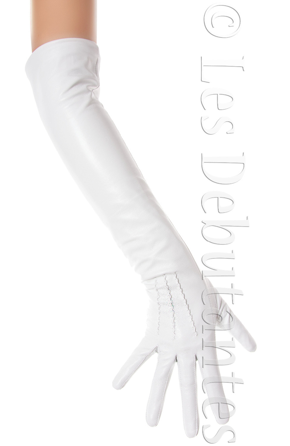 Ladies long vintage leather gloves - Aliexpress Com Buy Women S Long White Leather Opera Gloves Vintage Style From Reliable Wedding Hair And Makeup Suppliers On Online Store 120562
