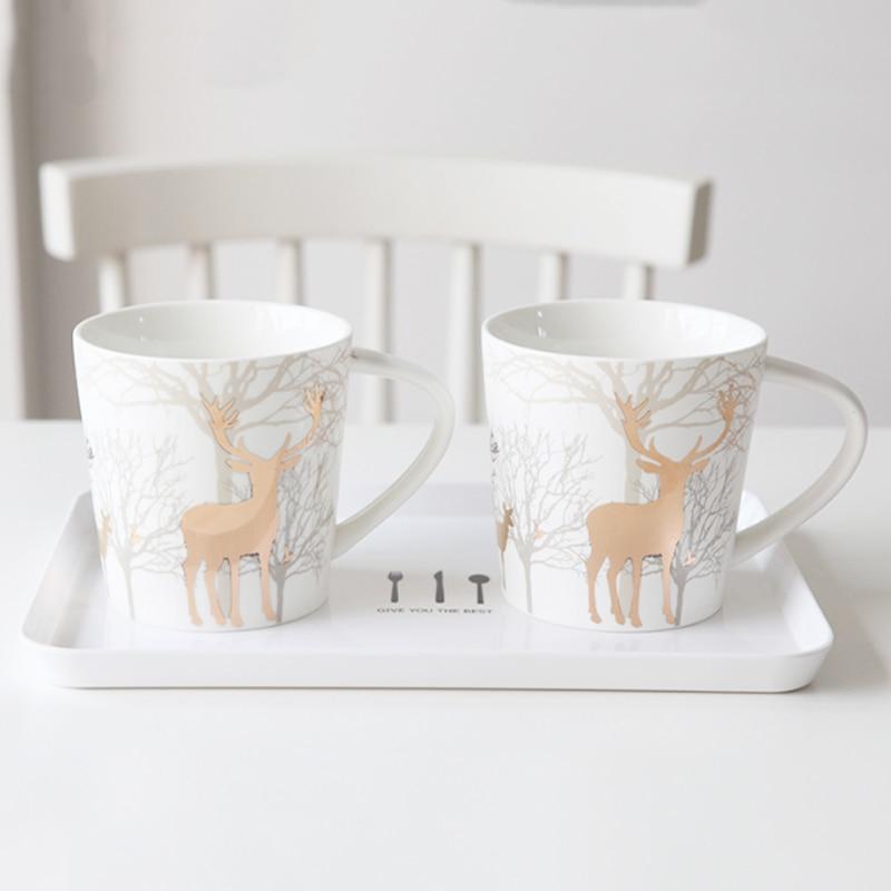 european cup office coffee. HIBOUR Cartoon Beer Mugs Creative European Style Christmas Present High Capacity Breakfast Ceramic Cups Office Coffee Mug 550ml-in From Home \u0026 Garden Cup