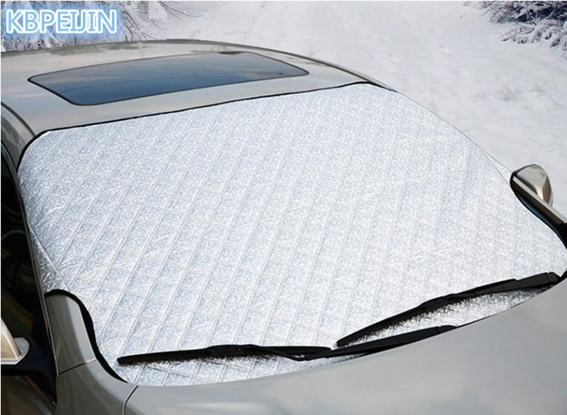 HOT Car Styling High quality Foldable Car Windshield Sun Shade for Vw polo tiguan golf 7 4 6 passat b6 b5 b7 touran Accessories