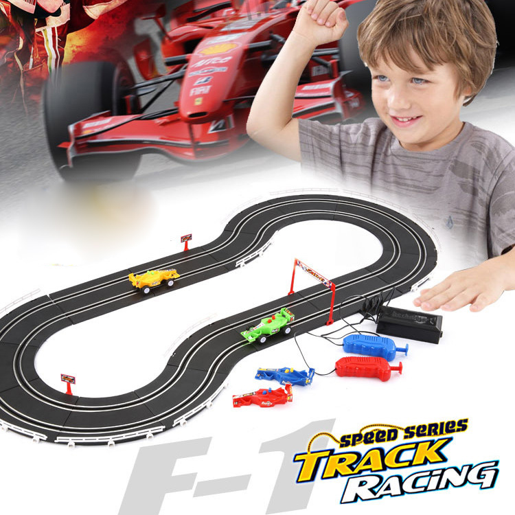 Speed Electric Double Race Track Car Hand Crank 8-shaped Equation Racing Boy Puzzle Car Toy Diecast Set 589-39ASpeed Electric Double Race Track Car Hand Crank 8-shaped Equation Racing Boy Puzzle Car Toy Diecast Set 589-39A