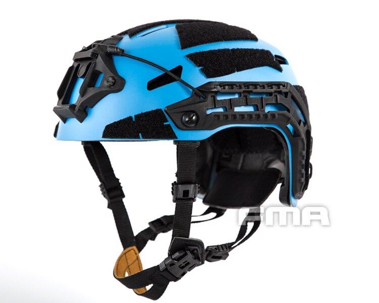 FMA Caiman Ballistic Helmet Space BL M/L TB1307-BLue Free Shipping